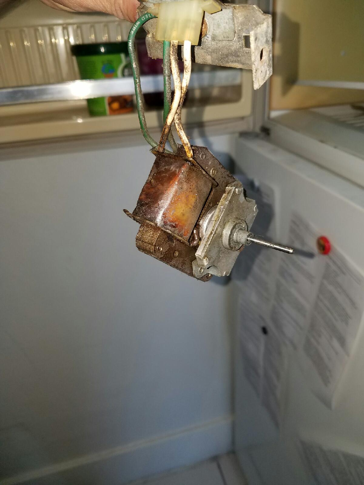 Is your refrigerator making a scraping or grinding sound